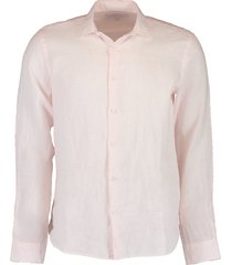giles camelia linen tailored-fit shirt