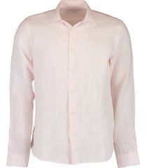 giles camelia linen tailored-fit shirt