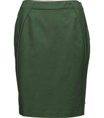 skirt knälång kjol grön coster copenhagen