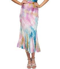 falda marciano acqualuna skirt multicolor guess