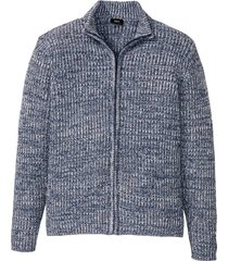 cardigan melange a coste (blu) - bpc bonprix collection