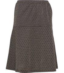 ricky skirt knälång kjol grå soft rebels