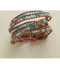 blue blazes 5 wrap bracelet