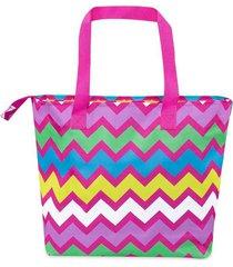 bolso caribe rosa para mujer croydon