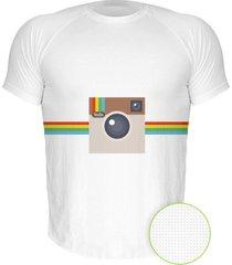 camiseta manga curta nerderia instagram branco - branco - masculino - dafiti
