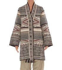 etro cardigan coat