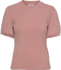 johanna tee t-shirts & tops short-sleeved rosa minus