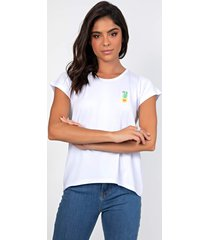 t-shirt myah cacto branco