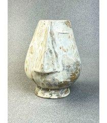 mini idol cykladzki / wazon rzeźbiony