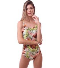 maiã´ simony lingerie cavado com bojo trilobal beach verde - verde - feminino - dafiti