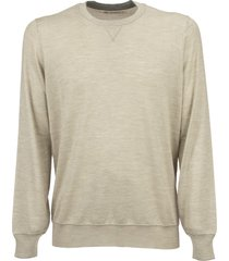 brunello cucinelli cashmere and silk sweatshirt-style sweater knitwear
