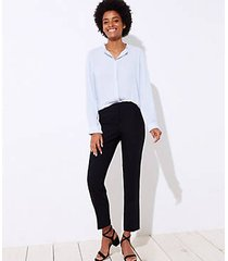 loft slim pencil pants in curvy fit