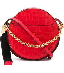 givenchy eden round crossbody bag - red