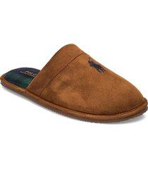 klarence slippers tofflor brun polo ralph lauren