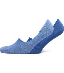 puma footie 2p unisex ankelstrumpor korta strumpor blå puma