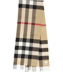 burberry half meg check archive scarf