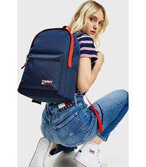mochila azul tommy jeans