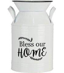 vaso estilo leiteira kasa ideia de metal bless our home