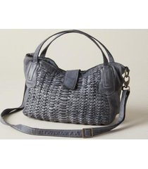 sundance catalog women's cannes handbag in gray