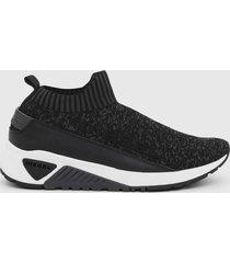 zapatilla s kb sock qb sneakers t negro diesel