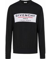 givenchy crewneck print sweater