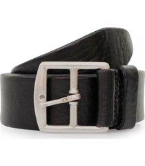 anderson's grain black leather belt a/2683 pl100 n1