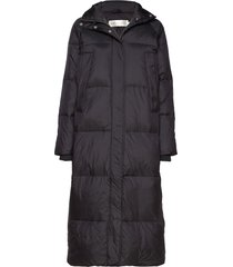 zayraiw long coat fodrad rock svart inwear