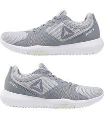 tenis lifestyle gris-blanco flexagon force dv9443 con envio gratis