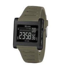 relógio masculino x-games digital - xgppd175 pxex preto