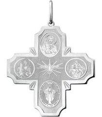 crucifixo de prata todos os santos