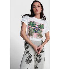 alix the label 2104892148 ladies knitted acid washed t-shirt.