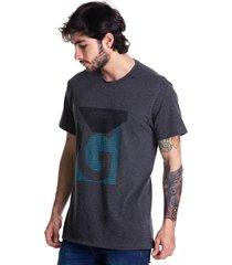 camiseta basica goco 415 gris oscuro