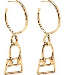 les creoles chiquita earrings