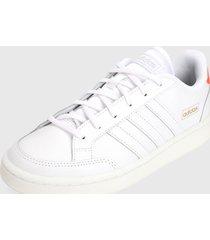tenis lifestyle blanco-naranja adidas performance grand court se