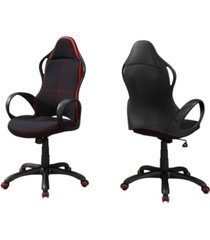 monarch specialties polyester blend office chair