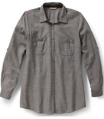 blusa cool mesh gris royal robbins by doite