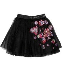 givenchy black skirt teen