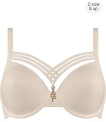 dame de paris plunge bh | wired padded egyptian ivory - 85f