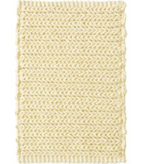 """madison park lasso 17"""" x 24"""" pieced dyed cotton chenille chain stitch rug bedding"""