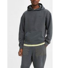levi's men's drawcord hem hoodie