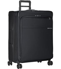 briggs & riley baseline 28-inch large expandable spinner packing case - black