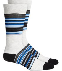 alfani men's stripe dress socks, created for macy's