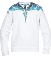marcelo burlon wings regular sweatshirt