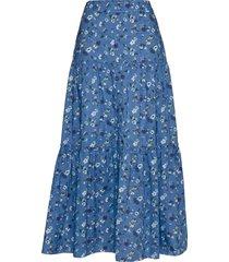 emily skirt lång kjol blå odd molly