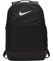 morral nike brasilia training backpack medium - negro
