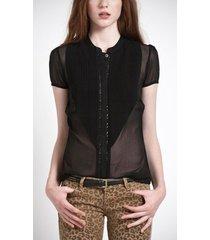 minka - pepe jeans - blouses - zwart