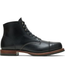 wolverine men's 1000 mile cap-toe boot black, size 13