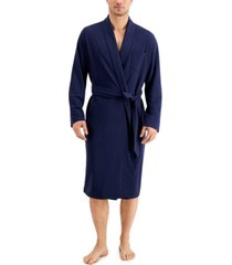 club room men's cotton robe, created for macy's