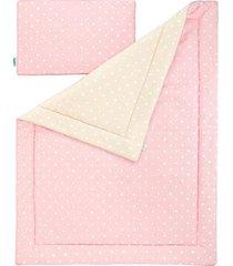 pościel dla dzieci lovely dots pink & beige