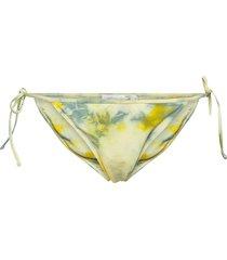metha swimwear bikinis bikini bottoms side-tie bikinis grön rabens sal r